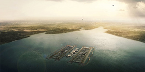New Design For Floating Thames Airport