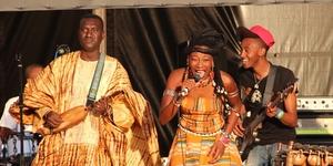 In Pictures: Africa Express Rocks Granary Square
