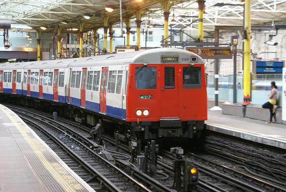 The Metropolitan Line A Stock Terminates Here
