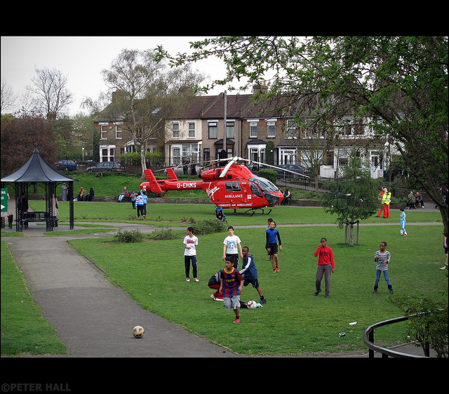 Wear Red And Support London's Air Ambulance