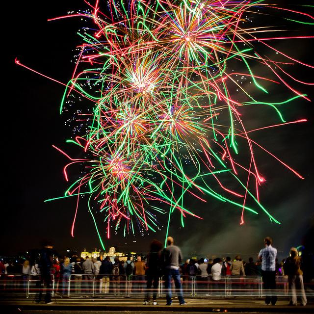 Firework finale by Robin Baumgarten