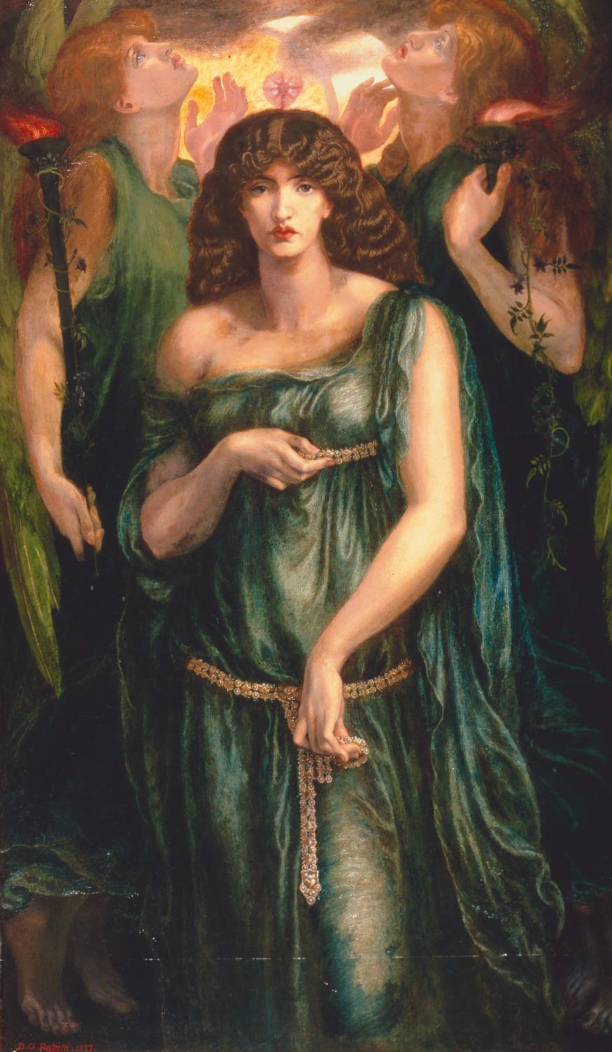 Dante Gabriel Rossetti, Astarte Syriaca 1877. Dante Gabriel Rossetti, Astarte Syriaca 1877 Copyright Manchester City Galleries