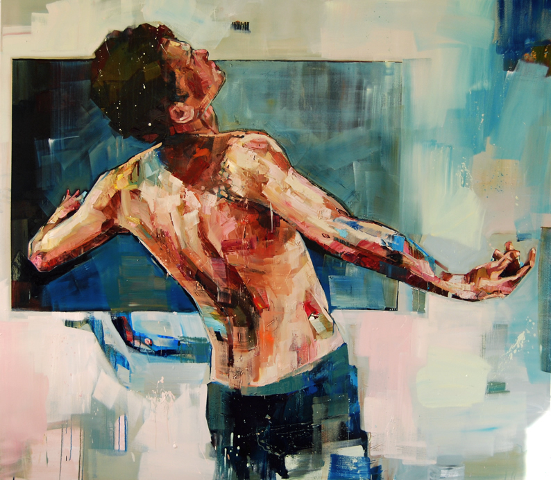 Andrew Salgado, Bluebox. Image courtesy of the artist.