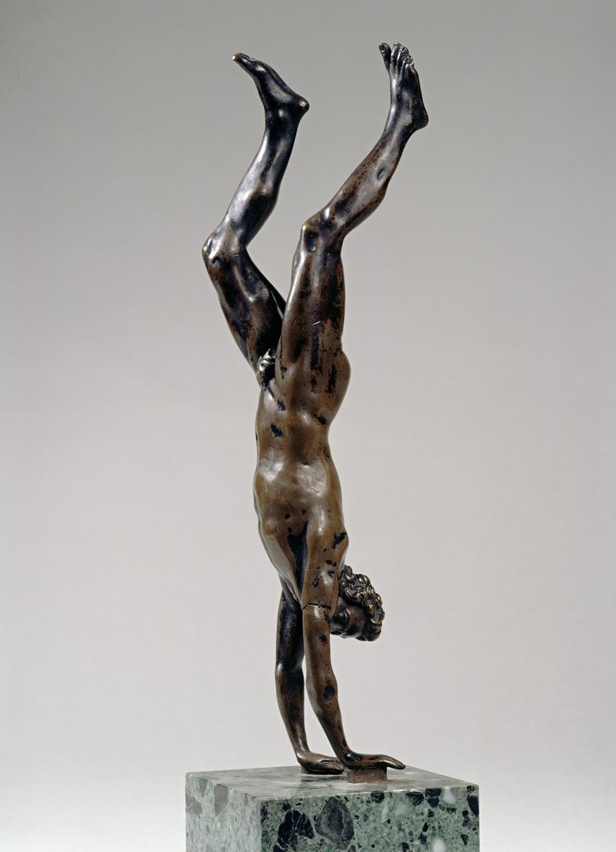 Plastik / Bronze (2. H�lfte 16. Jh) von    Barth�l�my Prieur [1536 - 1611]    H�he 29,3 cm   Inventar-Nr.: 2097   Systematik:    Kulturgeschichte / Kunst / Stilepochen / Renaissance / Plastik