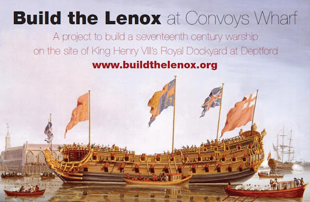 Rebuild The Lenox At Convoys Wharf, Deptford