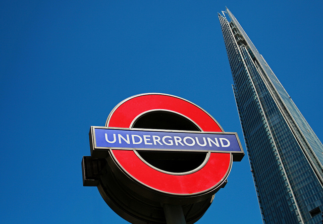 The most famous London sign of them all, by The Great Misto