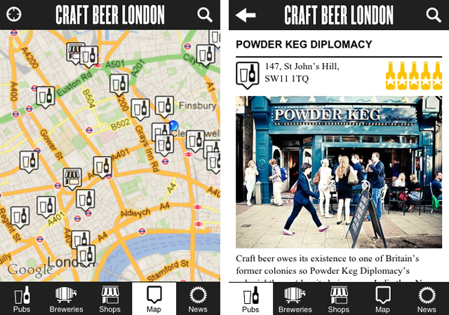 App Review: Craft Beer London