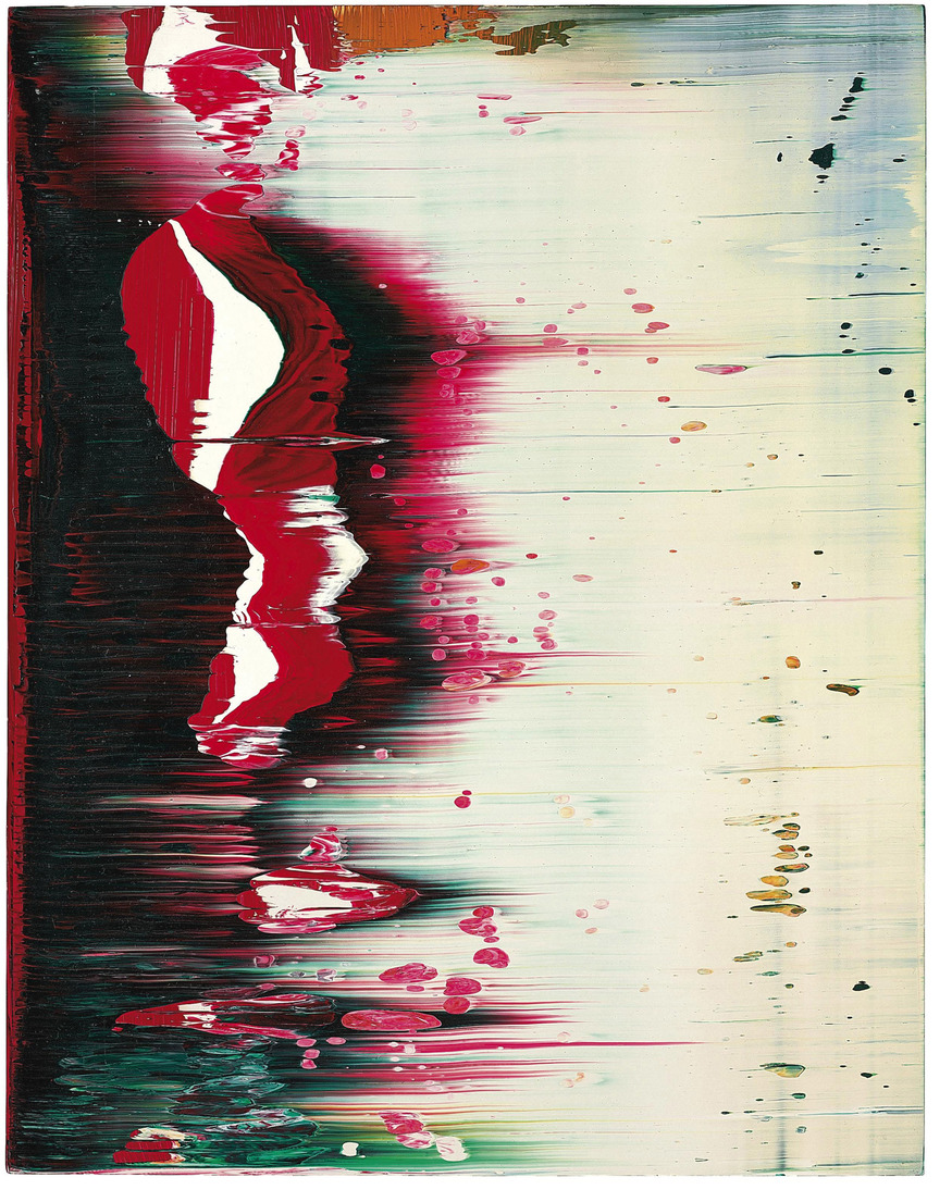 Gerhard Richter, Fuji, 1996. David Roberts Collection, London