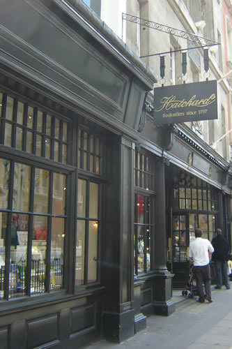 Hatchards, booksellers since 1797, is the oldest surviving bookshop in London