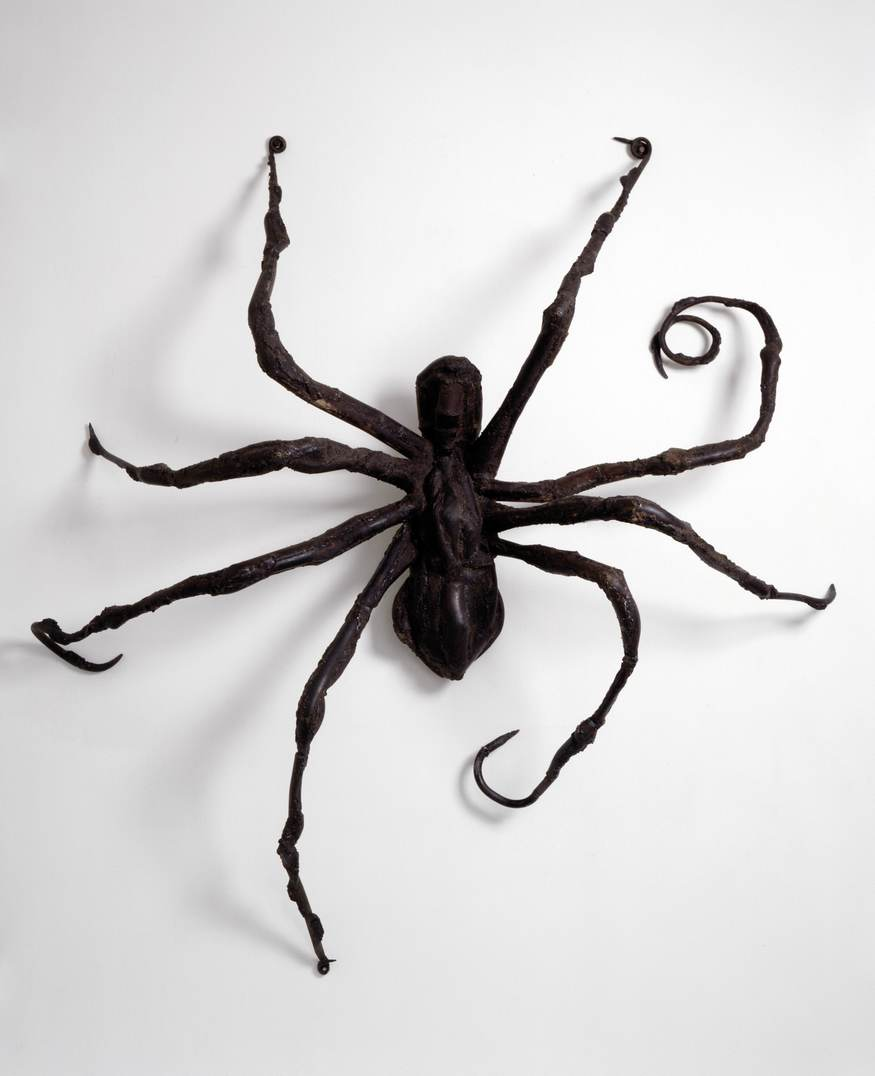 Key. 530   Louise Bourgeois, Spider IV, 1996  Bronze, 203.2 x 180.3 x 53.3 cm  Collection The Easton Foundation, courtesy Hauser & Wirth and Cheim & Read  Photo Peter Bellamy  Copyright Louise Bourgeois Trust