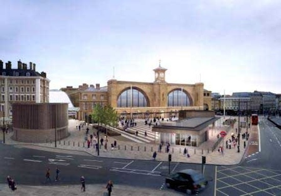 King's Cross Square, opening in 2013.