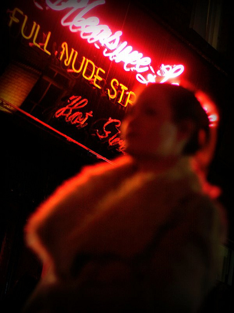 Red Light District, by Kate O'Neill