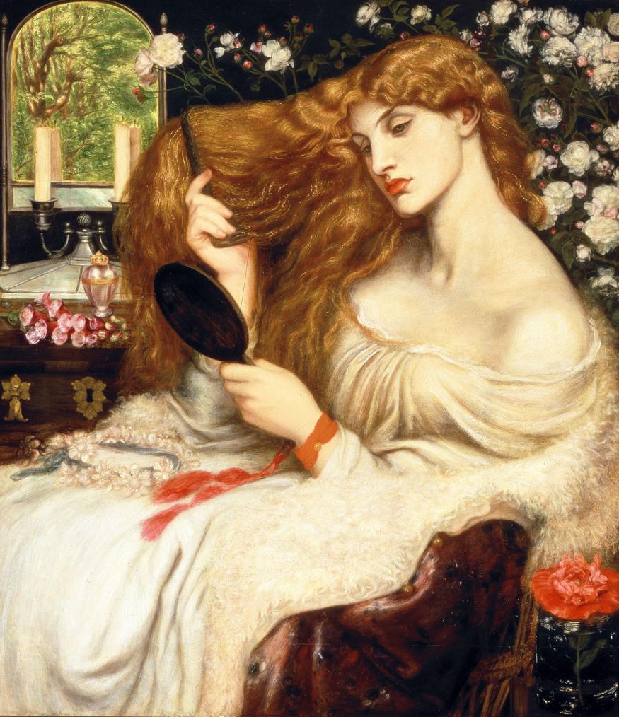 Dante Gabriel Rossetti Lady Lilith 1866–8. Dante Gabriel Rossetti Lady Lilith 1866-1868 Delaware Art Museum, Samuel and Mary R. Bancroft Memorial, 1935