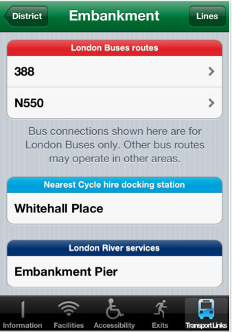 Bored of the Tube? Station Master tells you what else is nearby.