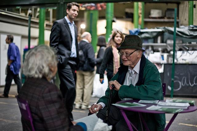 In Borough Market, by Gary Kinsman