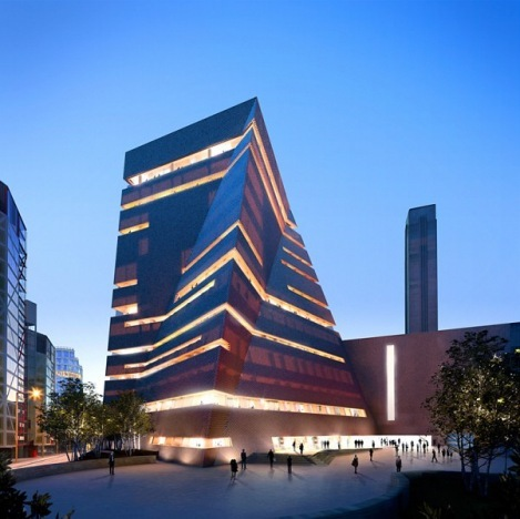 Tate Modern Extension, due in 2016.