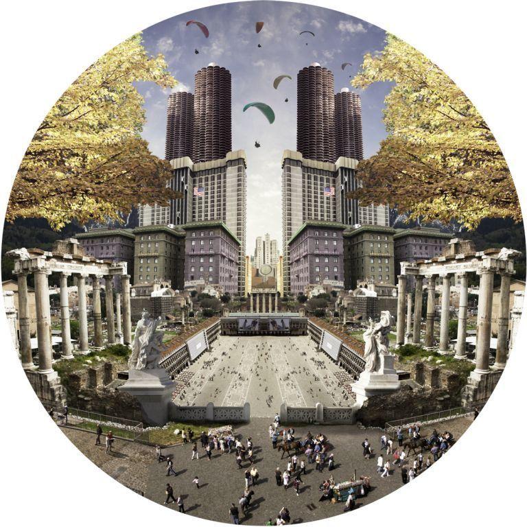 Tom Leighton, The Forum. Courtesy Cynthia Corbett Gallery.