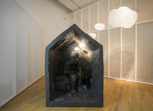 Perhaps our favourite piece: Thought Cloud by Maarten Baas. Photo © David Levene