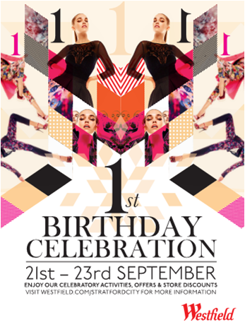 Join The Birthday Party At Westfield Stratford City