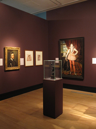 A selection from the display at the NPG