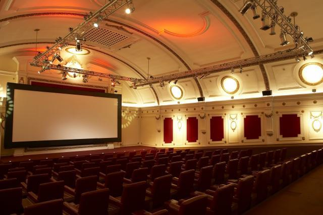 Inside the Electric Cinema today. The Electric reopened in its current form in 2001