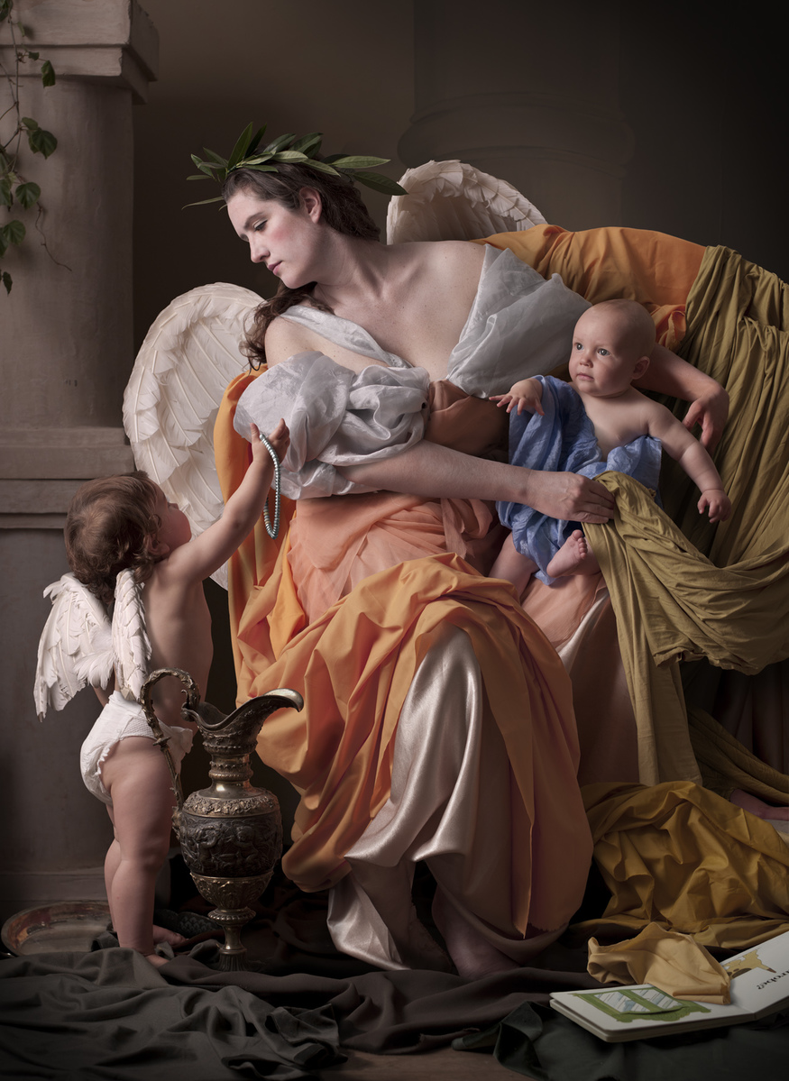 Digital c-type print 125 x 96 cm  Sara Myerscough Gallery