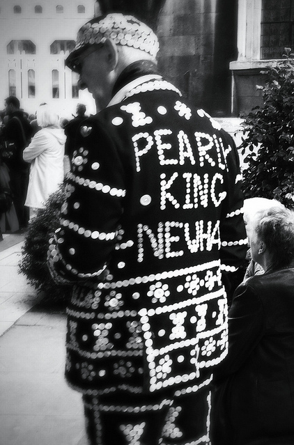 Pearly King of Newham by chipperchowders