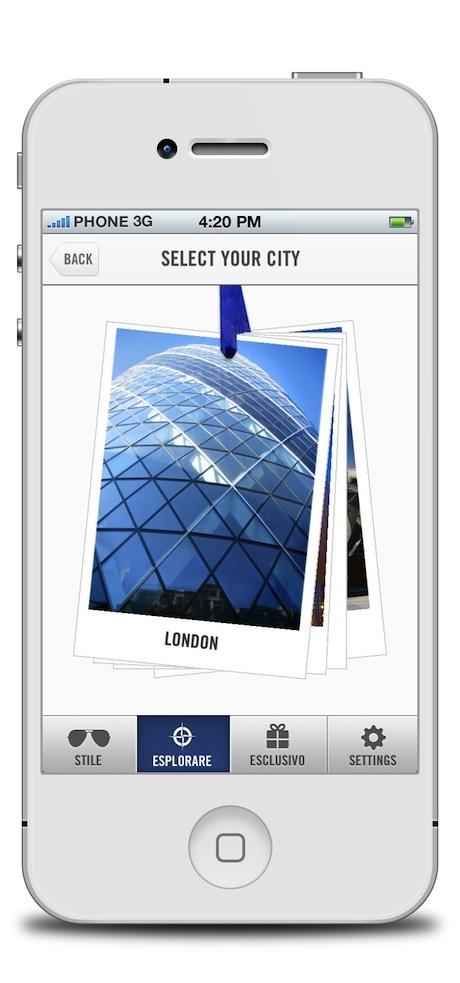 "Tap Into Italian Style With The ""Vivi in Stile Peroni"" App"