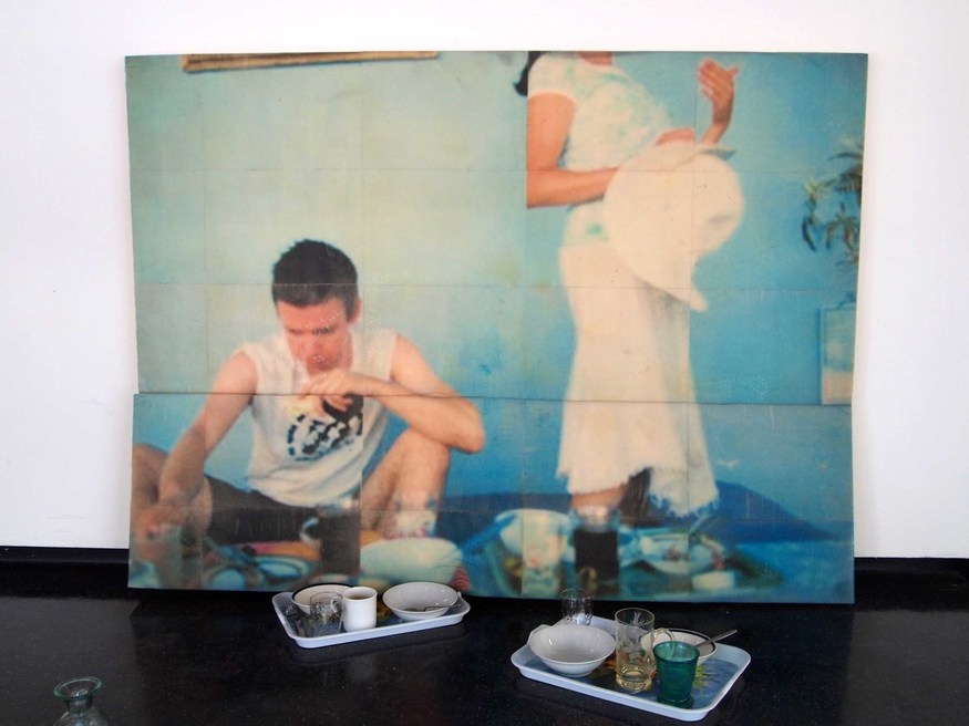 Rachel Hunt, Breakfast in Luxor. Courtesy Saatchi Gallery