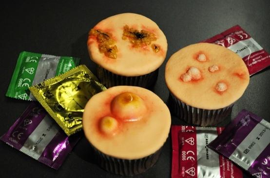 STD cupcakes.