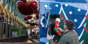 Giant LEGO Advent Calendar Arrives In Covent Garden