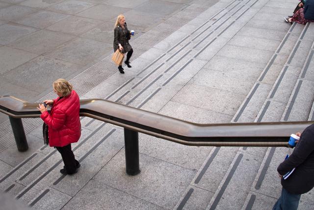 Steps, Trafalgar Square