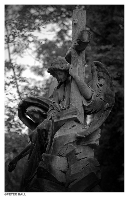 Abney Park cemetery, North London, by Peter H