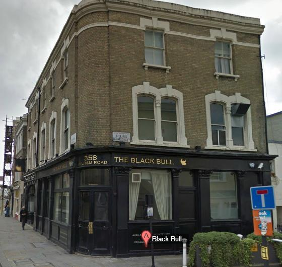 Another Chelsea Pub Gets Squatted