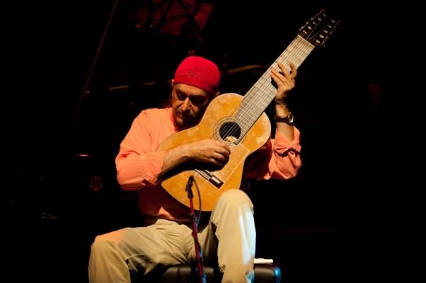 Egberto Gismonti performs at the London Jazz Festival