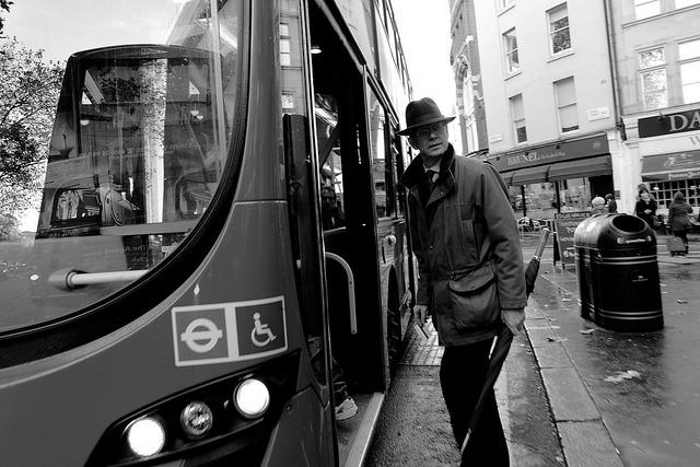 Bus Boarder, by Paul Riley