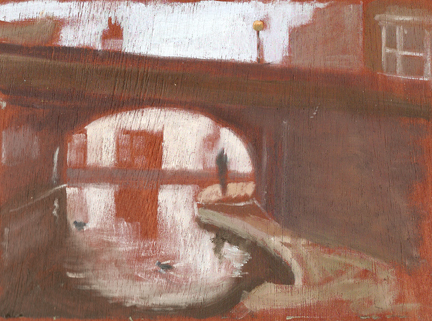 Andy Parker, Camden Canal. Image courtesy of the artist