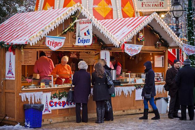 London Winter Markets For 2012