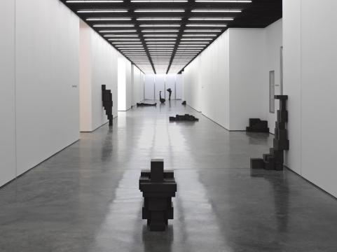 Antony Gormley, Corridor. Image courtesy White Cube