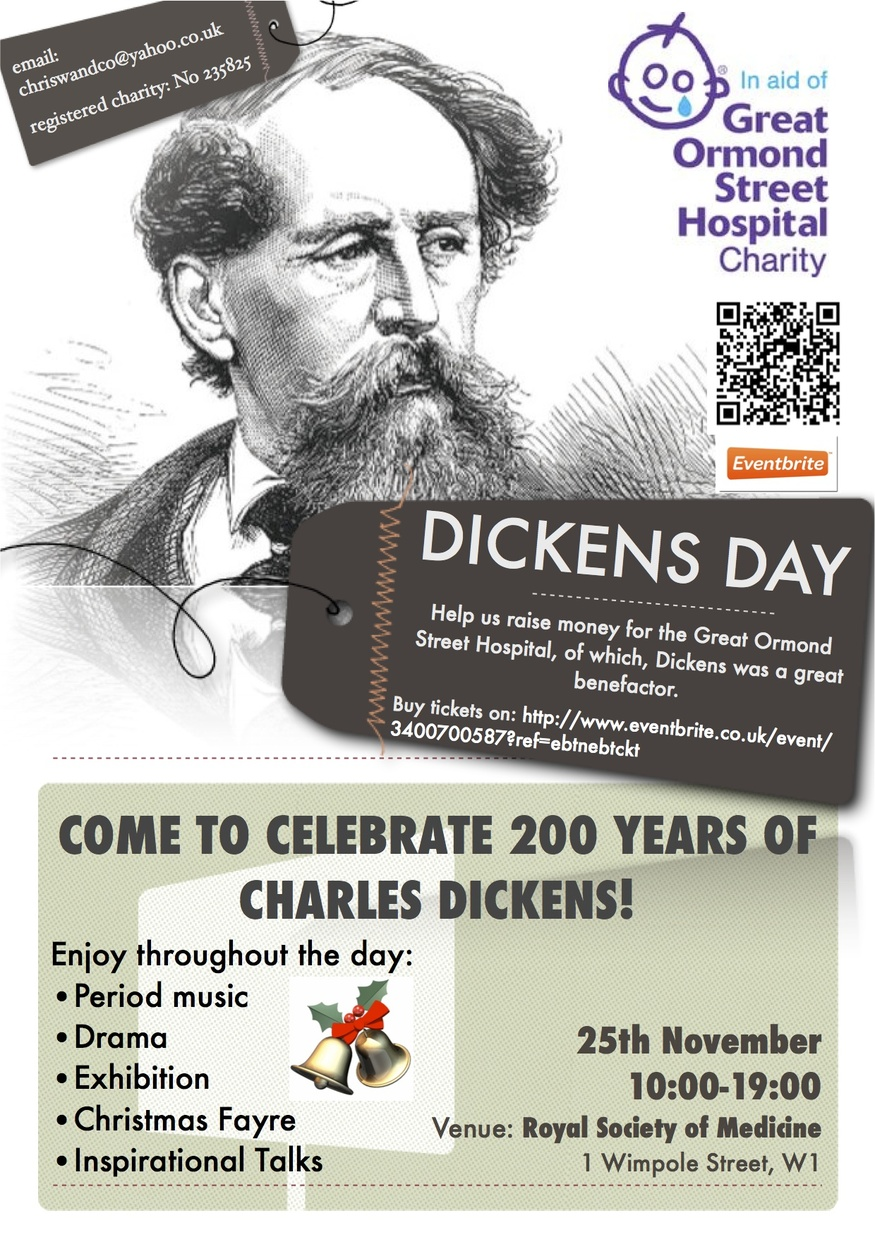 Preview: Dickens Day @ Royal Society Of Medicine
