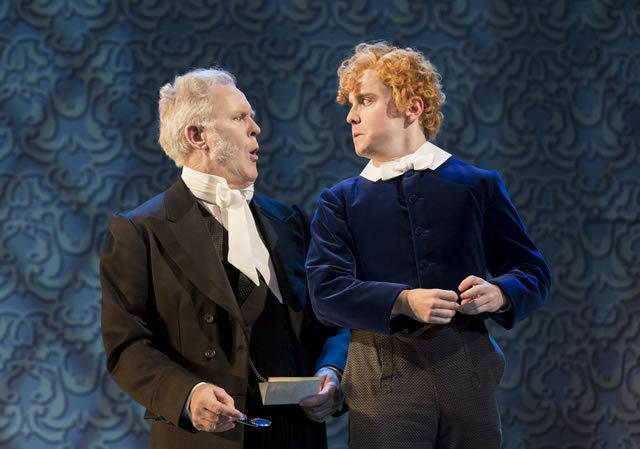 John Lithgow (Posket) & Joshua McGuire (Cis Farringdon)