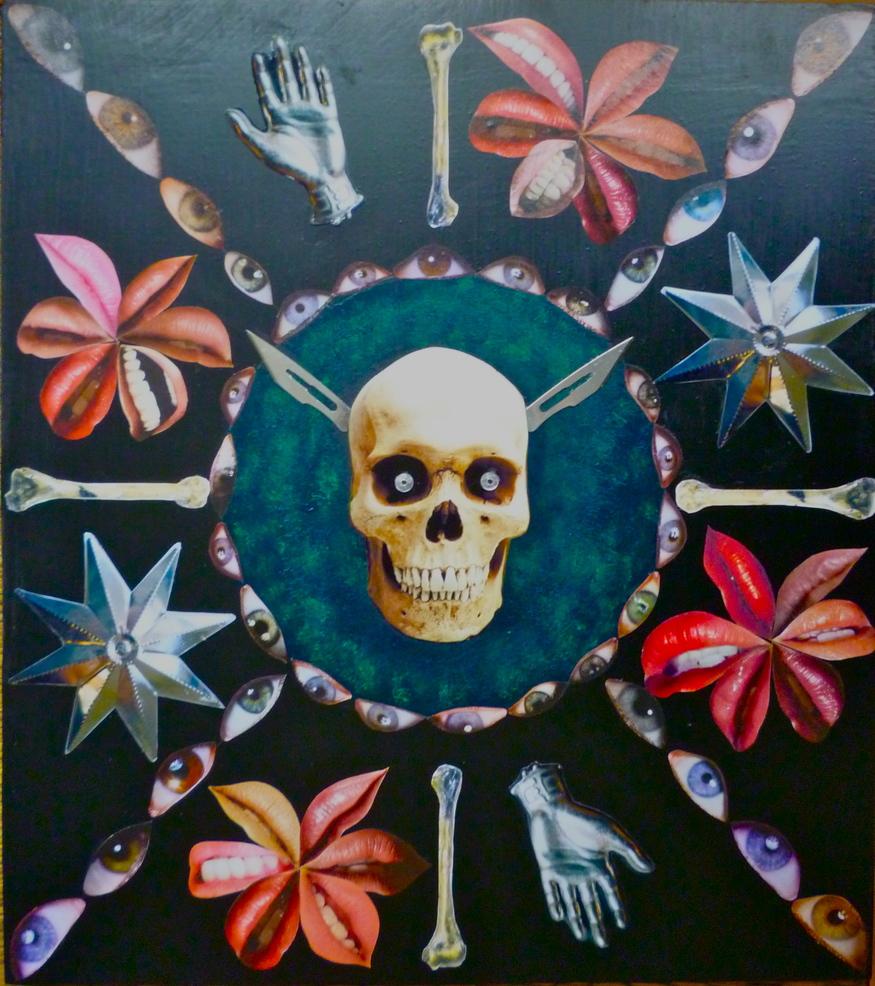 Gaye Black, Shining Death. Image courtesy Signal Gallery.