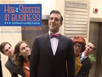 Theatre Preview: How to Succeed in Business Without Really Trying @ Bridewell Theatre