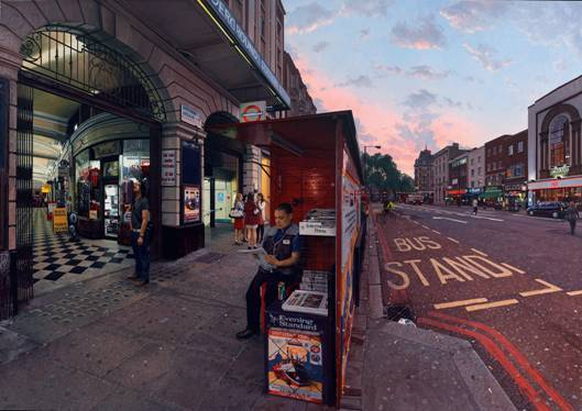 Clive Head, Victoria Arcade, 2011. Image courtesy of Marlborough Fine Art