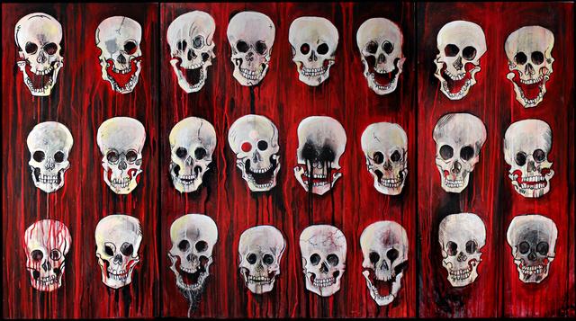 Jason Atomic. I am the Death Machine. Image courtesy Signal Gallery.