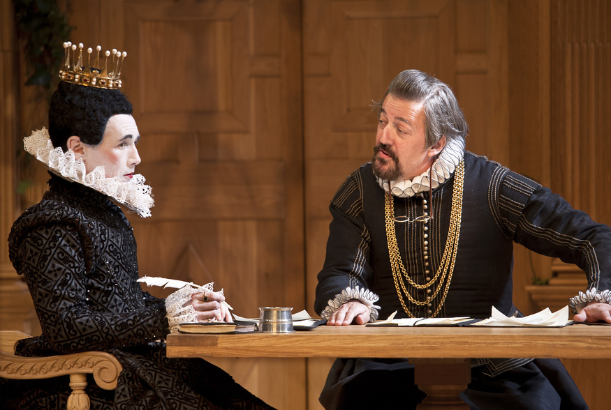 Mark Rylance and Stephen Fry / photo by Simon Annand