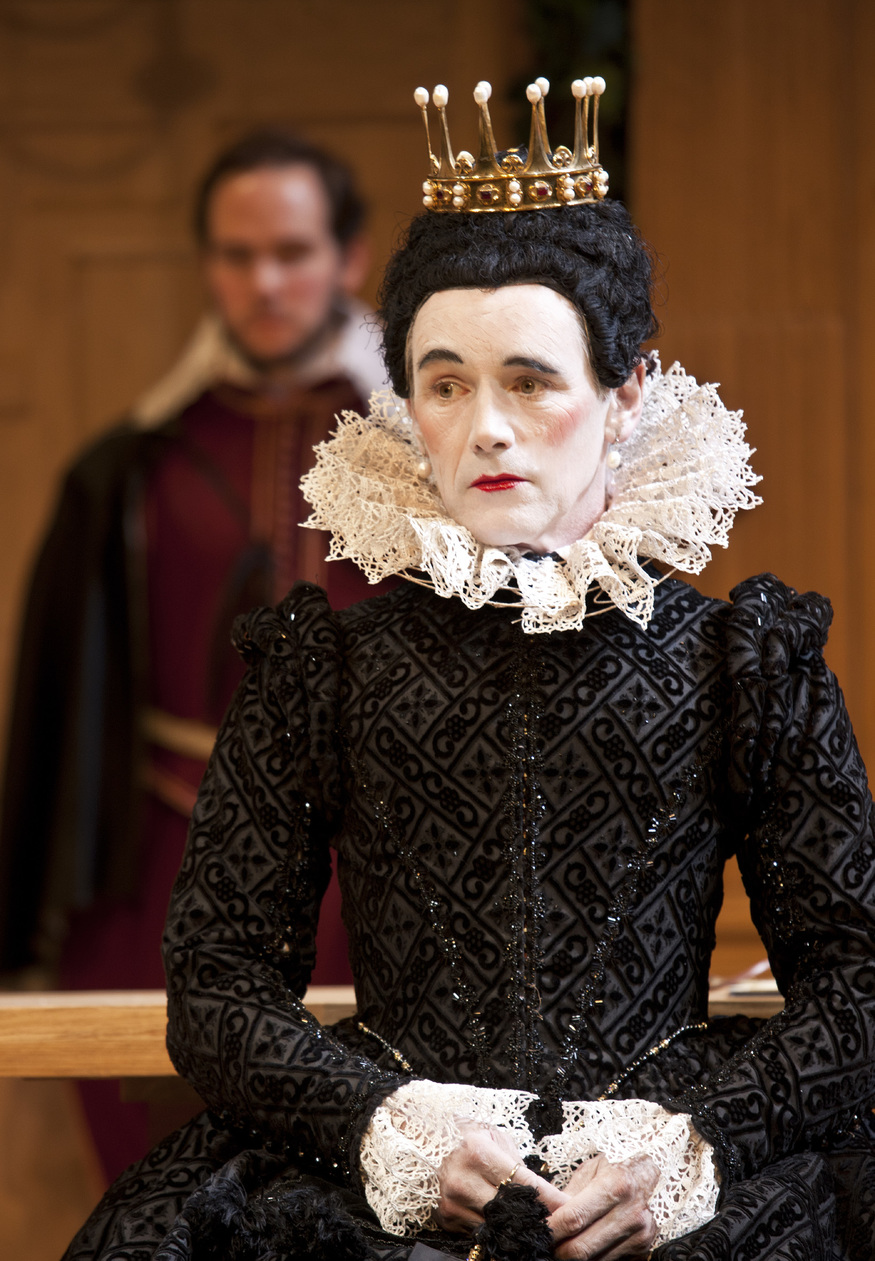 Mark Rylance as Olivia / photo by Simon Annand