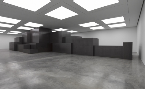 Antony Gormley, Model. Image courtesy White Cube
