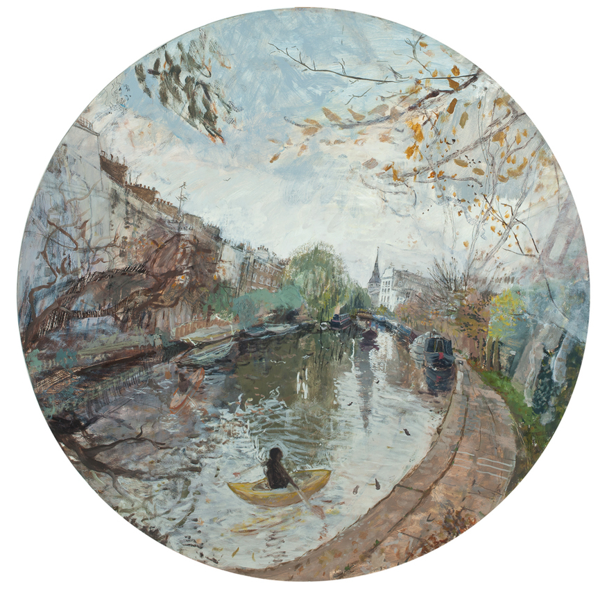 Sophie Levi, Regent's Canal. Courtesy Thompson's Gallery