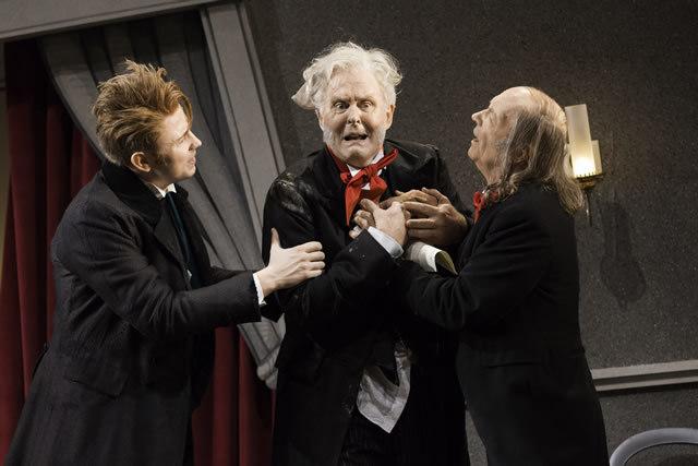Alexander Cobb (Wyke), John Lithgow (Posket) & Roger Sloman (Mr Wormington)